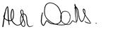 HOBAN's CEO signature, Alison Watts